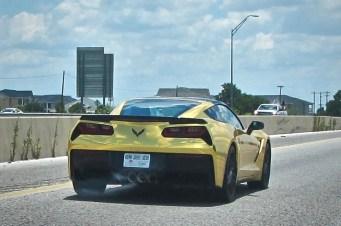 Gold 2015 Corvette Stingray in Austin Texas