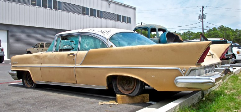 1957 Lincoln Premier in Austin TX posted side