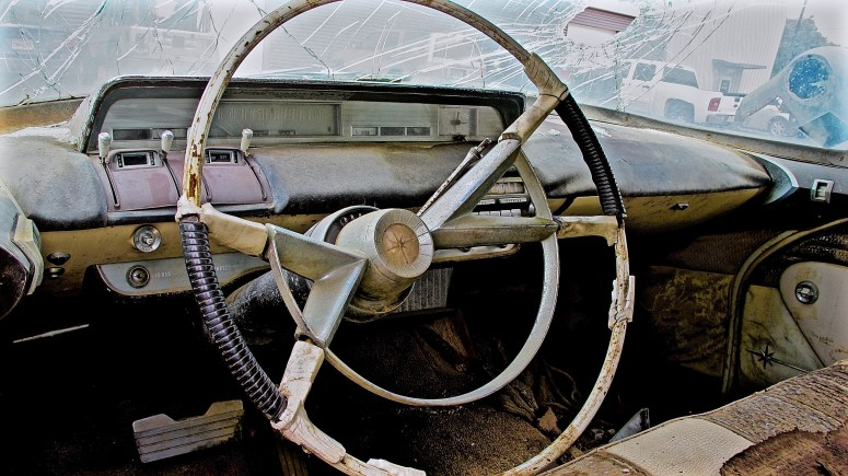 1957 Lincoln Premier in Austin TX posted interior