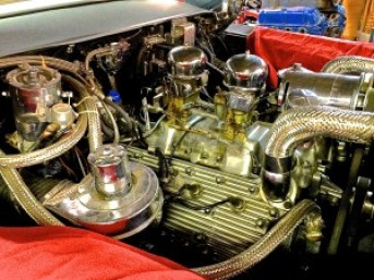 1949 Lincoln Cosmopolitan modified engine