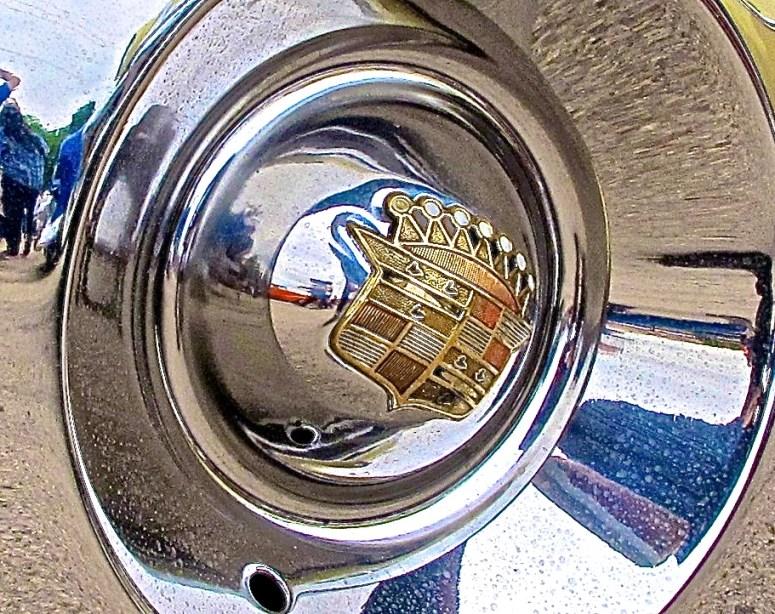 1953 Custom Dodge in Austin TX  hubcap