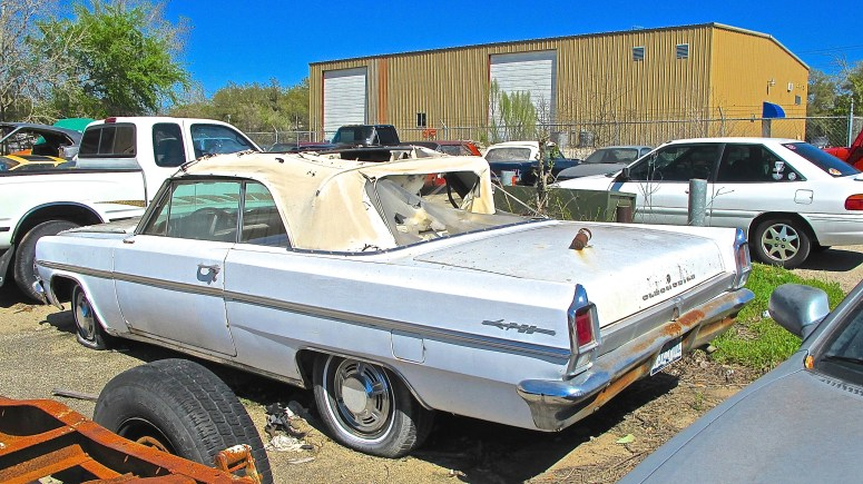 1963 F-85 Oldsmobile Convertible in Austin TX rear