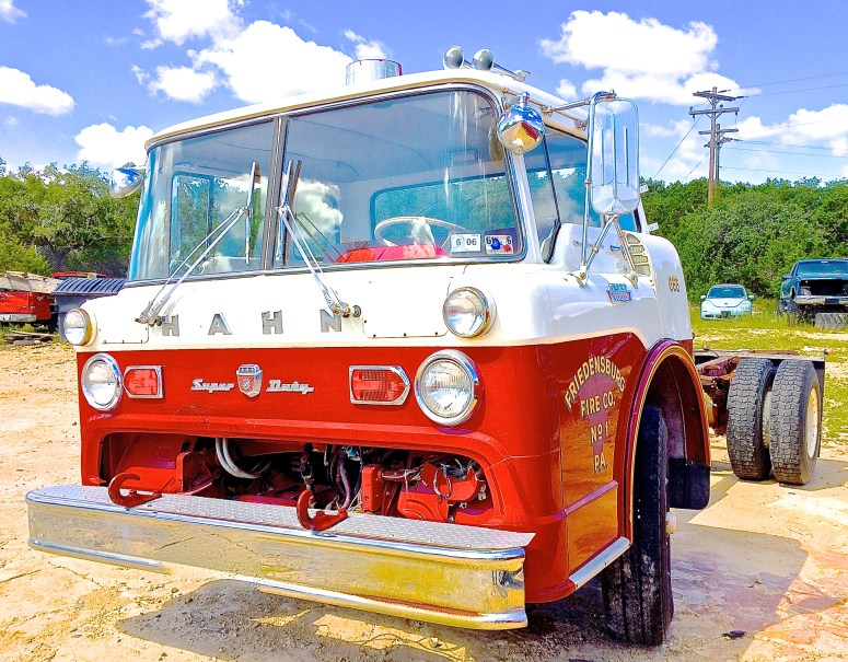 Ford Fire Truck in Austin TX front