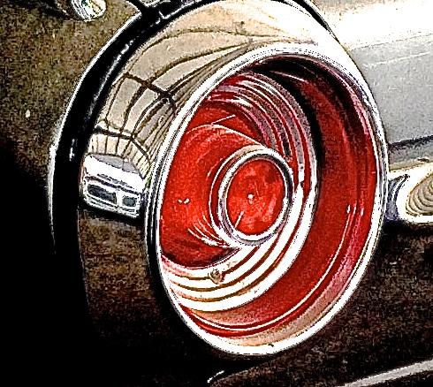 1962 Thunderbird in Liberty Hill, TX taillight