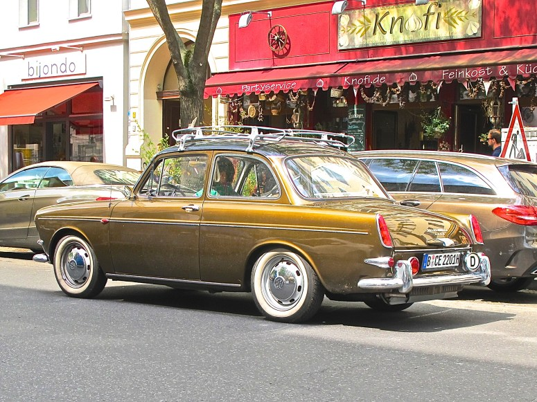 Volkswagen 1500 Notchback Type 3 Sedan Berlin Germany