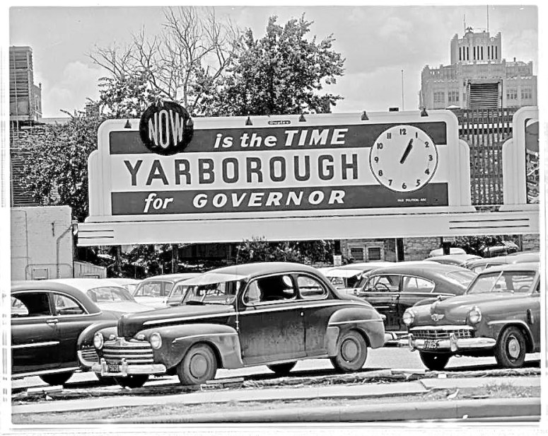 Yarborough for Gov vintage austin cars