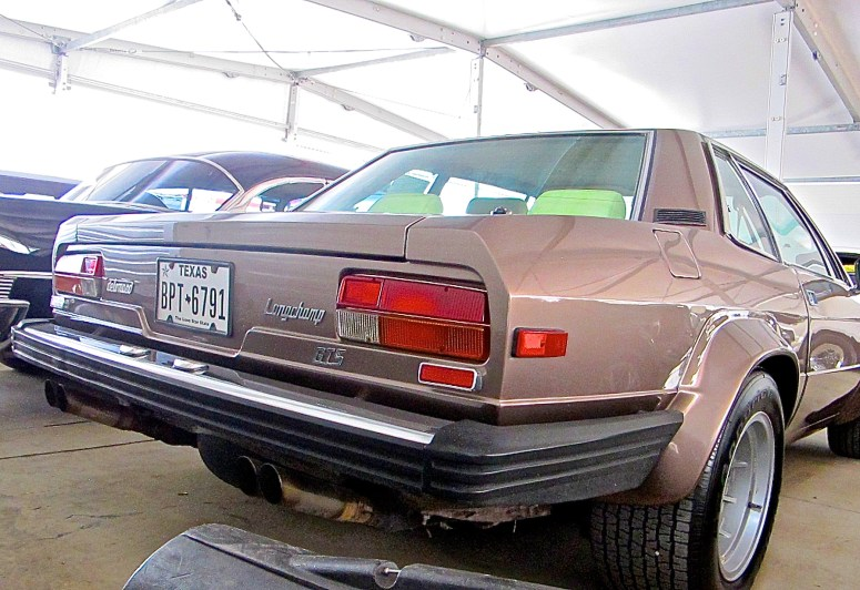 1983 De Tomaso Longchamp Motostalgia Auction