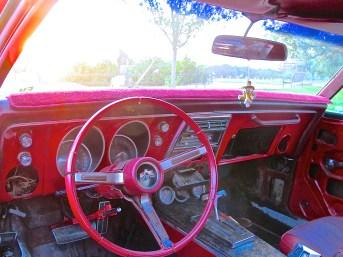 1968 Firebird in Austin TX atxcarpics.com interior