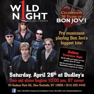Autism Awareness Fundraiser: 1 Wild Night Celebrates 30 Years of Bon Jovi {4/26/14}
