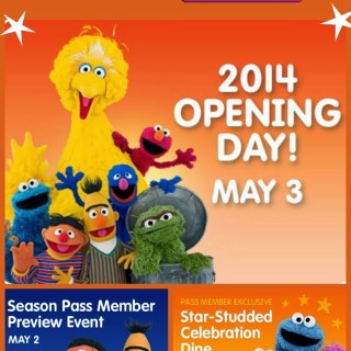 Sesame Place Opening Day, Come See What's New! {5/3/14}