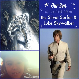 The Silver Surfer & Luke Skywalker: The Inspiration For My Son's Name