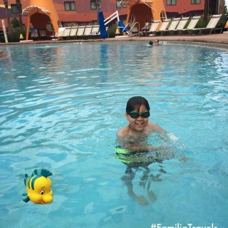 All About The Little Mermaid & Swimming with Flounder at The Art of Animation Resort {Wordless Wed}