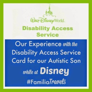 Our Experience Using the Disability Access Service Card at Walt Disney World