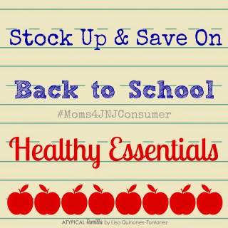 Stock Up & Save On Back To School Healthy Essentials | #Moms4JNJConsumer #ad