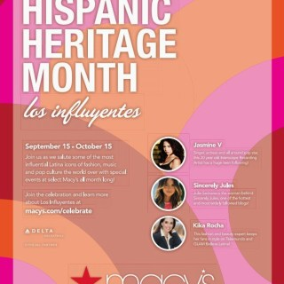 Macy's at the New Bay Plaza Mall Celebrates Hispanic Heritage Month  #HHM