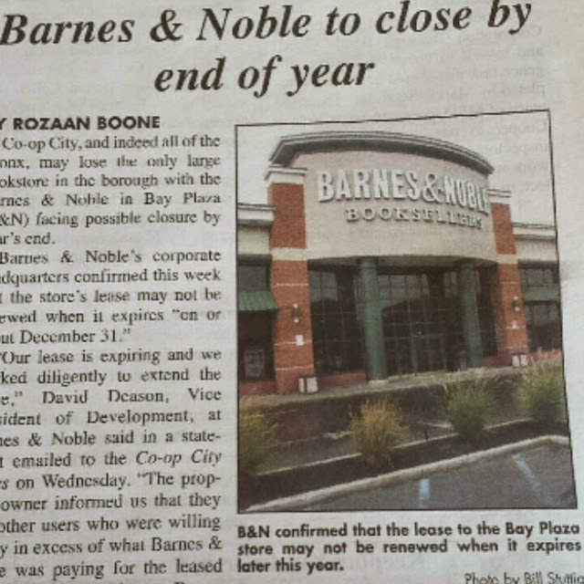 Please Don't Go Barnes & Noble @BNBuzz. The Bronx Needs A