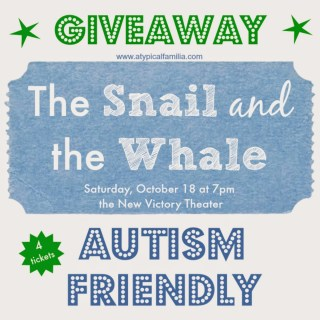 The Snail  The Whale {Autism Friendly Performance} at The New Victory Theater