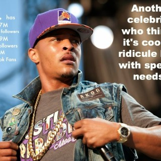 "Hey T.I. – It's Not Cool To Make Fun of Kids With Special Needs Who Ride The ""Short Bus"""