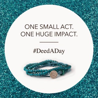 100 Good Deeds for 2015! A Reminder To Do More Good with @The1GDBracelet {#DeedADay}