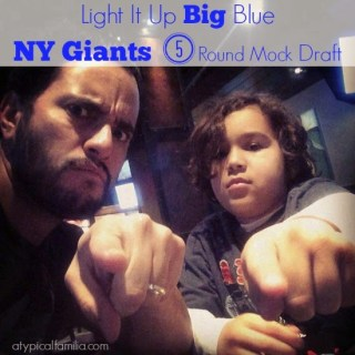 Light it up BIG BLUE – New York Giants Five Round Mock Draft
