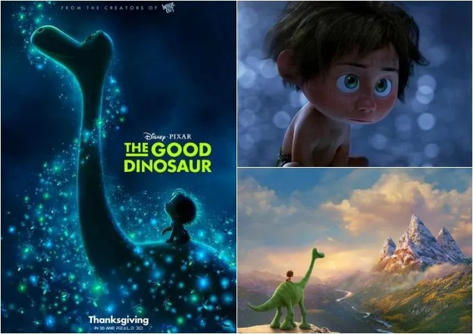 The Good Dinosaur Good Dino Coloring Pages and Trailer