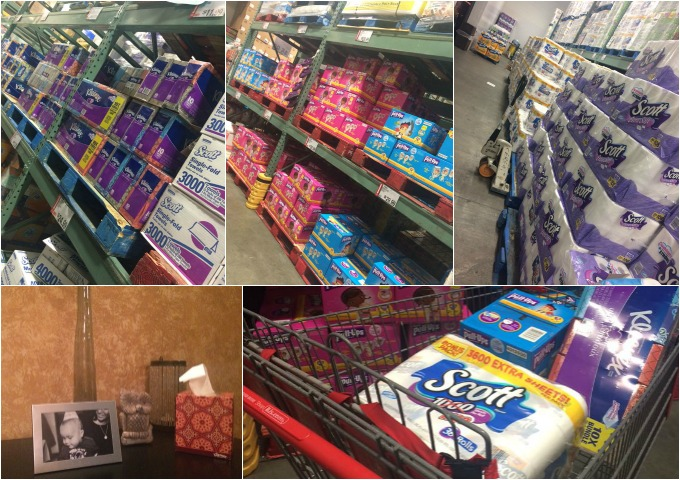 Shopping-Kimberly-Clark Products at BJs
