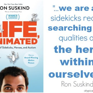 Life, Animated: A Conversation with Ron Suskind