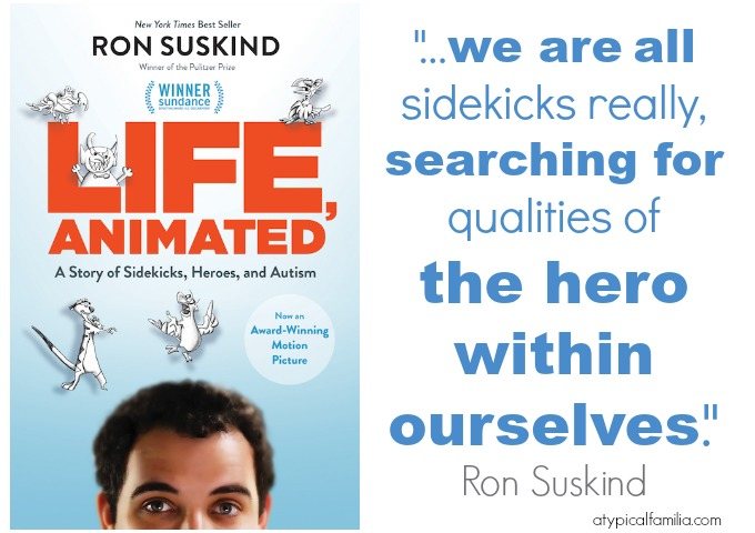 Life, Animated Q & A with Ron Suskind Atypical Familia by Lisa Quinones Fontanez
