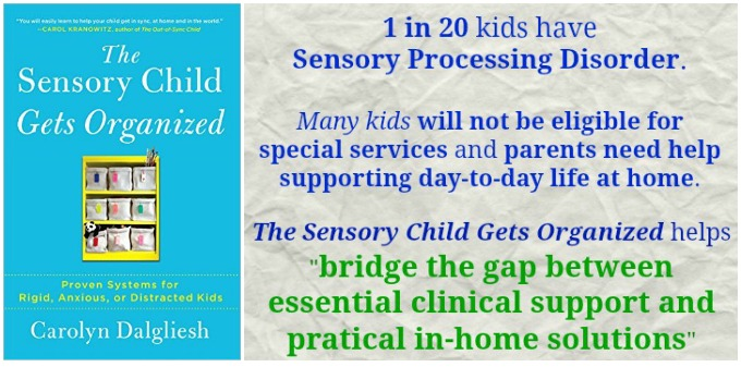 The Sensory Child Gets Organized by Carolyn Dalgliesh Atypical Familia Book Review
