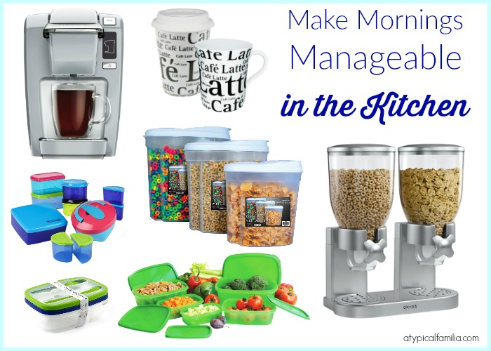 Make Mornings Manageable Kitchen Organization