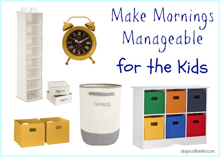 Make Mornings Manageable for the kids