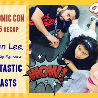 NY Comic Con Recap: Stan Lee, Funko Pop Figures & Fantastic Beasts