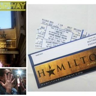 I Got To See Hamilton!