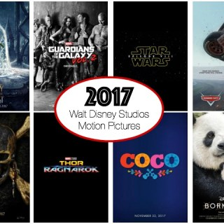 Upcoming 2017 Walt Disney Studios Films