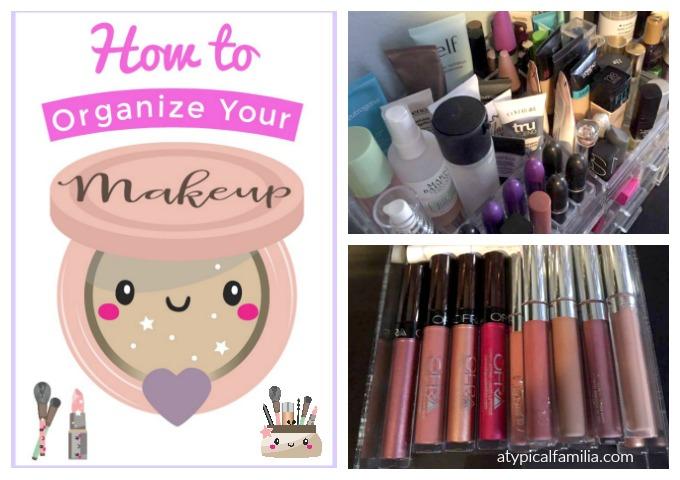 How to Organize Makeup_Makeup Storage_Get Organized Month & Get Organized Month: Makeup Organization/Storage - Atypical Familia