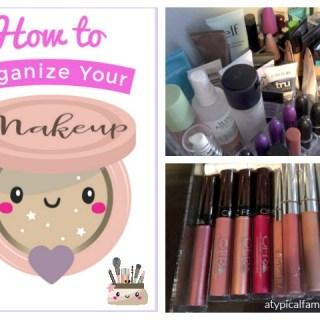 Get Organized Month: Makeup Organization/Storage