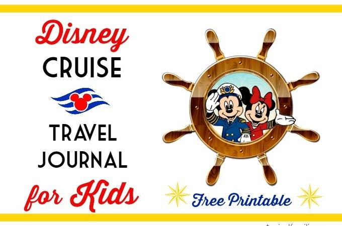 Disney Cruise Travel Journal for Kids
