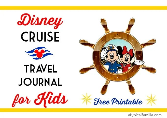 Disney Cruise Travel Journal for Kids