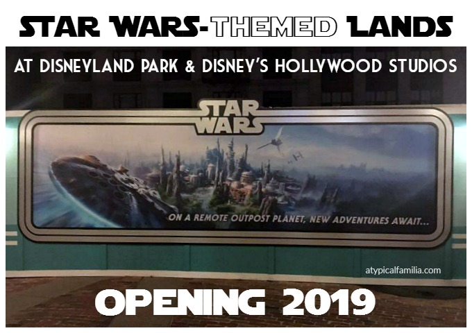 Star Wars Lands Opening in 2019