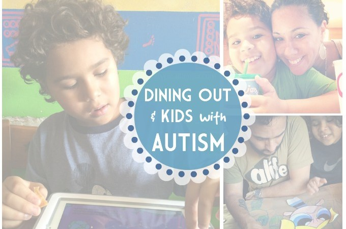 Dining Out and Kids with Autism Tips