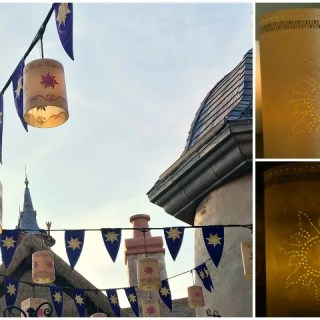 DIY Tangled Inspired Paper Lantern: Tangled Before Ever After DVD Giveaway