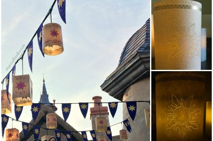 Easy DIY Tangled Rapunzel Paper Lantern via Atypical Familia by Lisa Quinones Fontanez