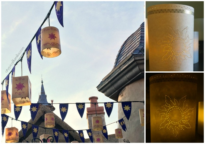 Easy DIY Tangled Rapunzel Paper Lantern via Atypical Familia by Lisa Quinones Fontanez