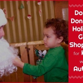 Holiday Gift Shopping for Kids with Autism