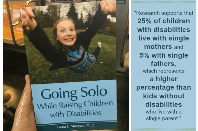 Single parents raising children with disabilities via Atypical Familia by Lisa Quinones Fontanez