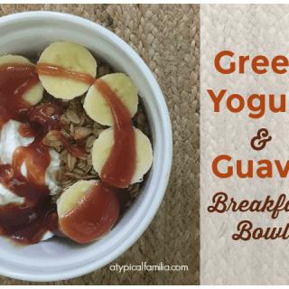Greek Yogurt & Guava Breakfast Bowl
