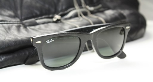 The Ray-Ban Distressed Collection: Aviator and Wayfarer sunglasses