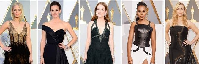 The Oscars 2016 Red Carpet Looks