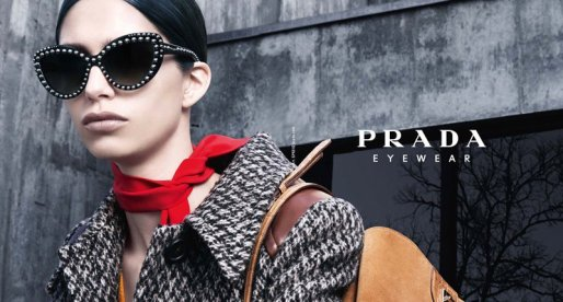 Prada Ornate Saffiano Leather Eyewear Collection