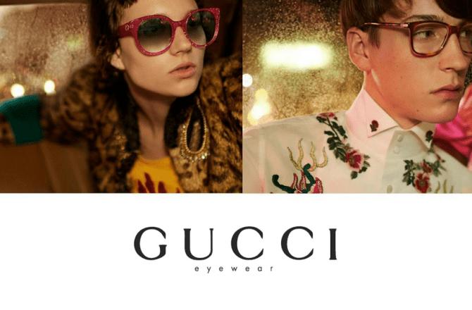 Viral In 2017: Gucci Eyewear Campaign